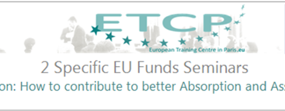 2 Specific EU Funds Seminars Verification: How to contribute to better Absorption and Assurance?