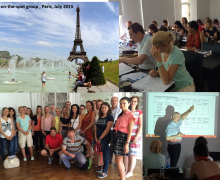 July session: the 5 hotest days in Paris! Next session in Autumn – New date 19-23 October