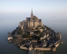 Mont-Saint-Michel in France supported by ERDF