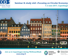 "Save the date: 1-2 June 2017- ""Focusing on Circular Economy"""