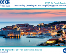 Contracting seminar | 18-19 September 2017 in Dubrovnik