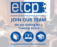 ETCP is looking for a Training Intern